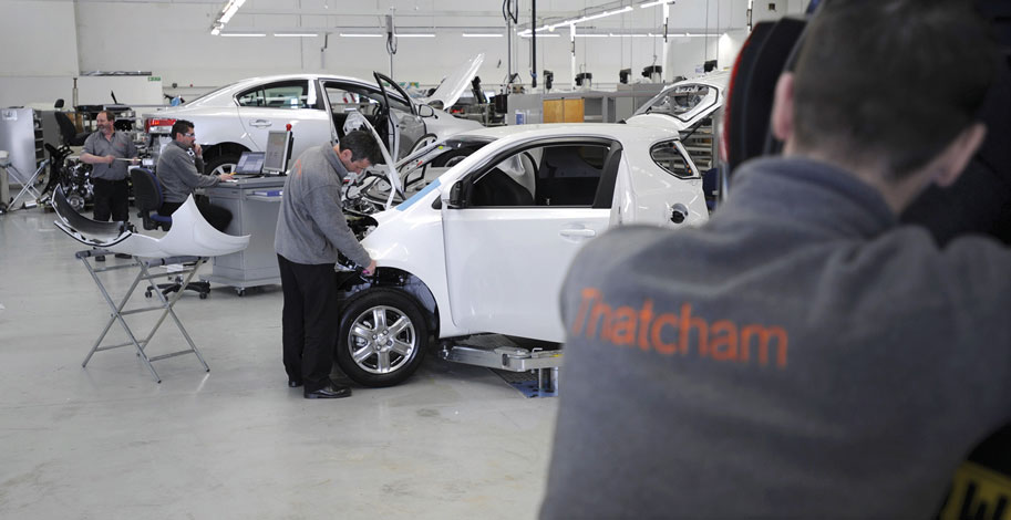 automotive aluminium training at thatcham