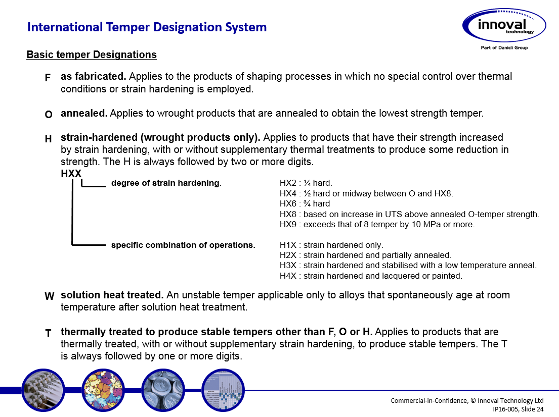 alloy and temper designations slide 2