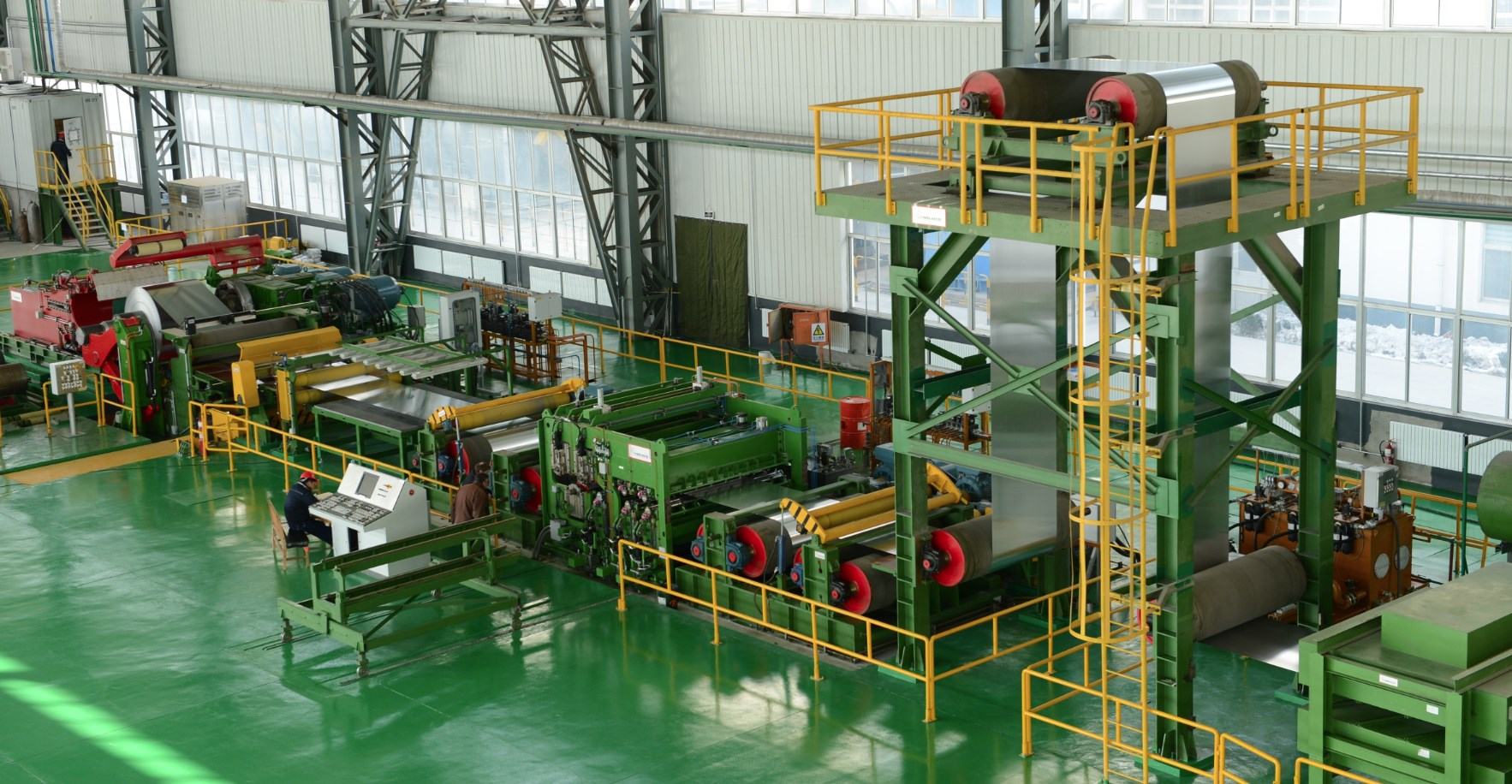 Tension Levelling Line